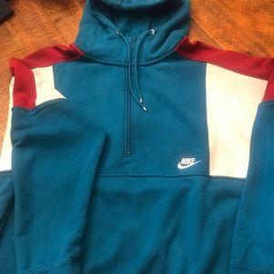 Nike 1/2 Zip Hoodie- Vintage